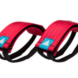 Velcro Straps – Red/Cyan