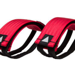 Velcro Straps – Red/Black