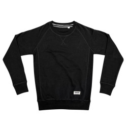 """Above"" Crewneck – black"