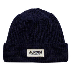"""Above"" Wool Hat – marine"