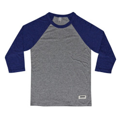 """Above"" Baseball Shirt – grey"