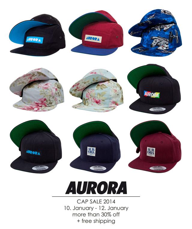 AURORA Cap Sale 2014