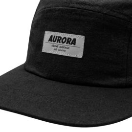 "AURORA ""Linen"" 5 Panel Cap."
