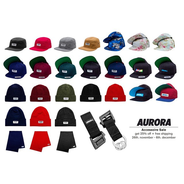 AURORA Christmas Discount! Use the code