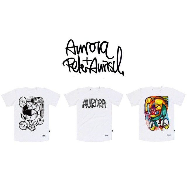 AURORA x Peter Aurisch Collaboration Release! Check out the complete Fall/Winter drop on our website! #auroracollective @peteraurisch @nevadajohnny #thequalityofthingsunseen #cycling #christmasiscoming #madeineurope #tattoo #art #skrwt