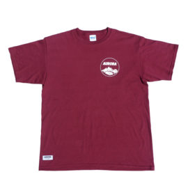 T-Shirt_Mountain_weinrot_front