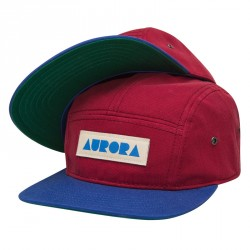 5 Panel Cap – Bordeaux