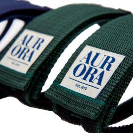 AURORA Velcro Straps Serif - dark green