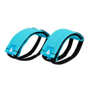AURORA Velcro Straps - turquoise