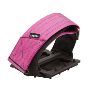 AURORA Velcro Straps V2 - antique pink/black