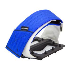 AURORA Velcro Straps V2 - blue/white