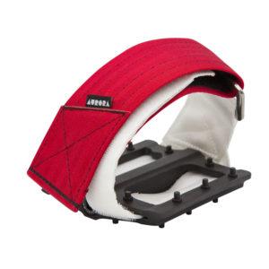 AURORA Velcro Straps V2 - red/white