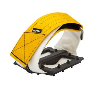 AURORA Velcro Straps V2 - gold yellow/white