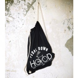 AURORA x Topdollar – Pedal down the Hood – Gym Sack – black