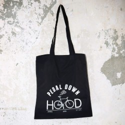 AURORA x Topdollar – Pedal down the Hood – Tote Bag – black