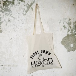 AURORA x Topdollar – Pedal down the Hood – Tote Bag – natural