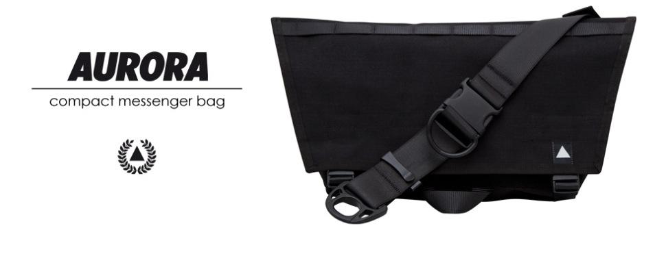 AURORA Compact Messenger Bag