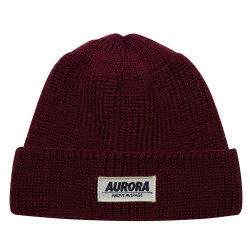 """Above"" Wool Hat – burgundy"