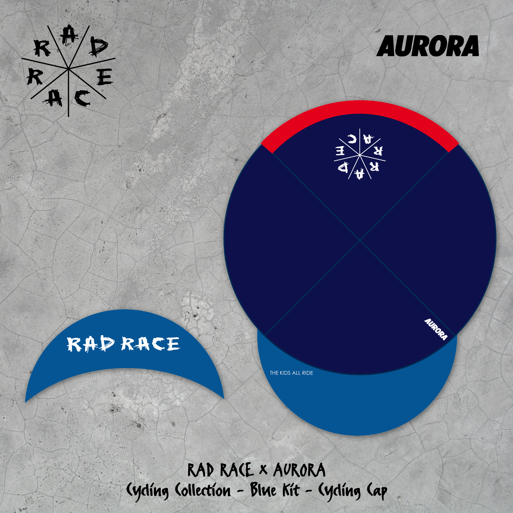 RAD RACE x AURORA Cycling Collection