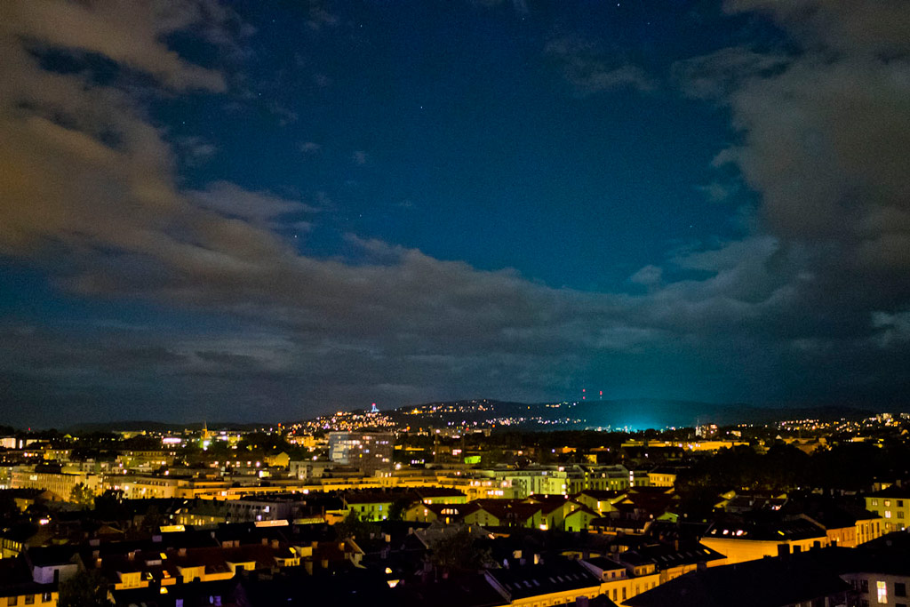 TdS Stage 9: Oslo at night