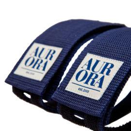 AURORA Velcro Straps Serif - navy